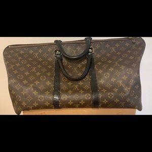 Louis Vuitton Keepall Macassare 55